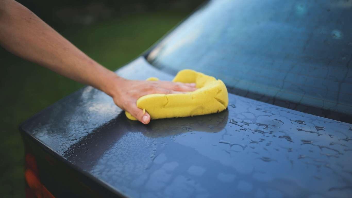 car washing as a way to burn calories